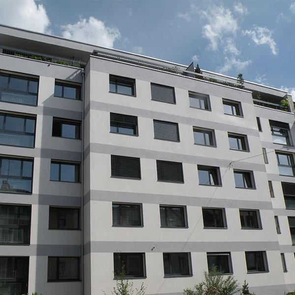 Sanierung Mehrfamilienhaus Colmarerstrasse 49, Basel