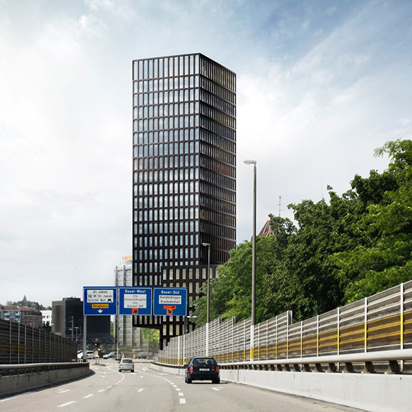 Grosspeter Tower Baufeld F, Basel