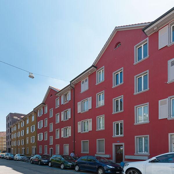 Wohnhaus Lothringerstrasse 141-145, Basel