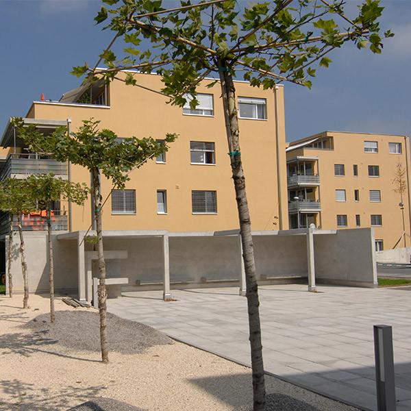 Wohnüberbauung «Im Oberdorf», Reiden