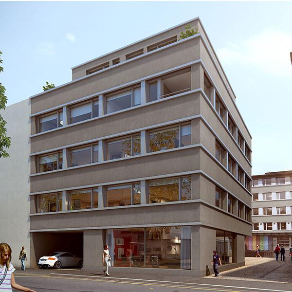 Wohn- und Geschäftshaus Malzgasse 18, Basel