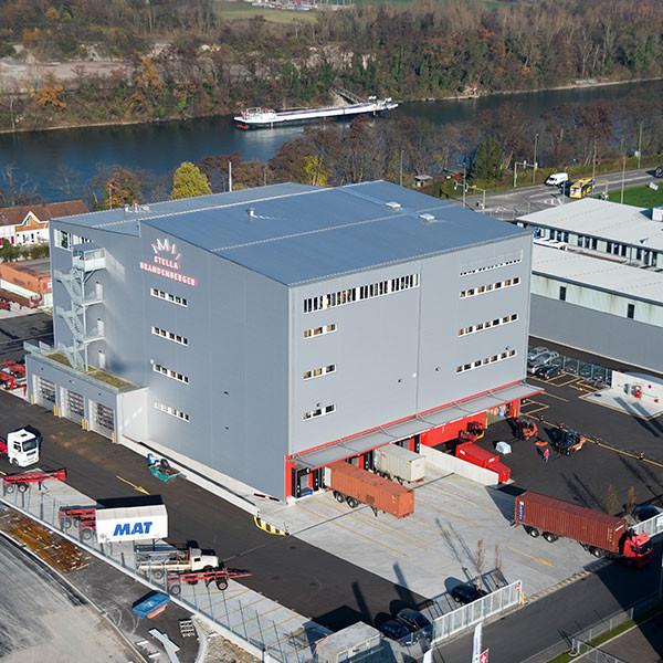 Logistikzentrum Stella Brandenberger, Pratteln