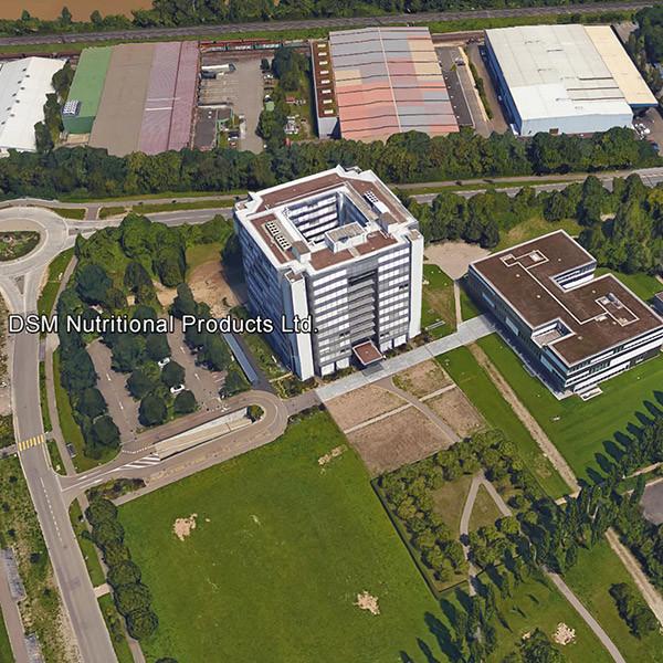 Neubau DSM Parking, Kaiseraugst
