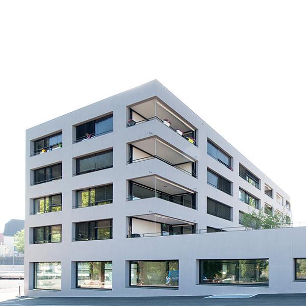 Wohn- und Geschäftshaus «Schiffländi», Rheinfelden