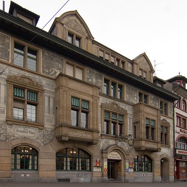 Umbau Restaurant zum Braunen Mutz, Basel