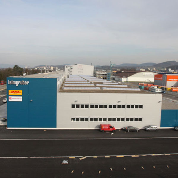 Neubau Logistikzentrum Paul Leimgruber AG, Pratteln