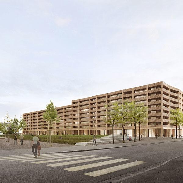 Bâleo Erlenmatt Baufeld A, Basel
