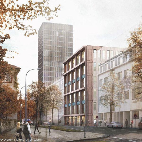 Ersatzneubau Verwaltungsgebäude Baufeld C, Grosspeterareal Basel