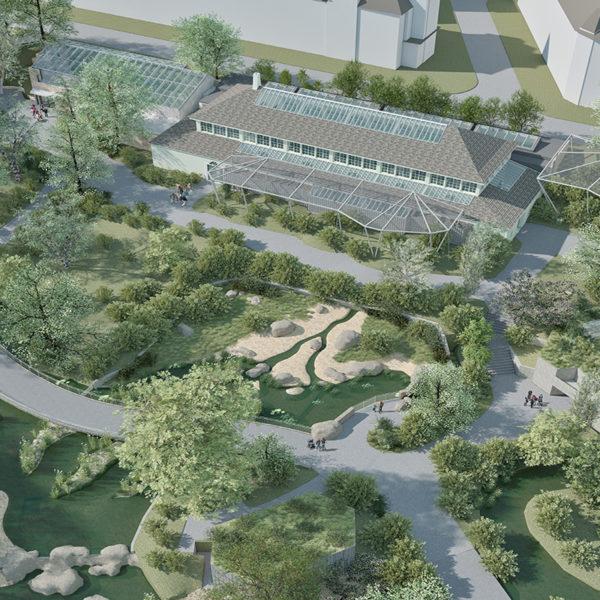 Um- und Ausbau Vogelhaus Zoo, Basel