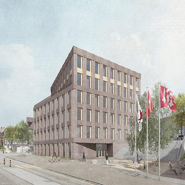 Neues Gemeindehaus, Oberwil
