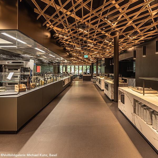 Sanierung Personalrestaurant Basler Versicherung, Basel